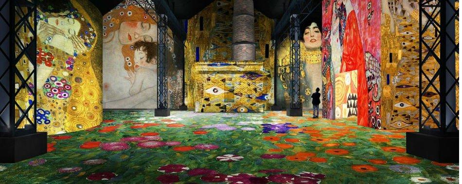 Gustav Klimt Exposition Atelier Lumières