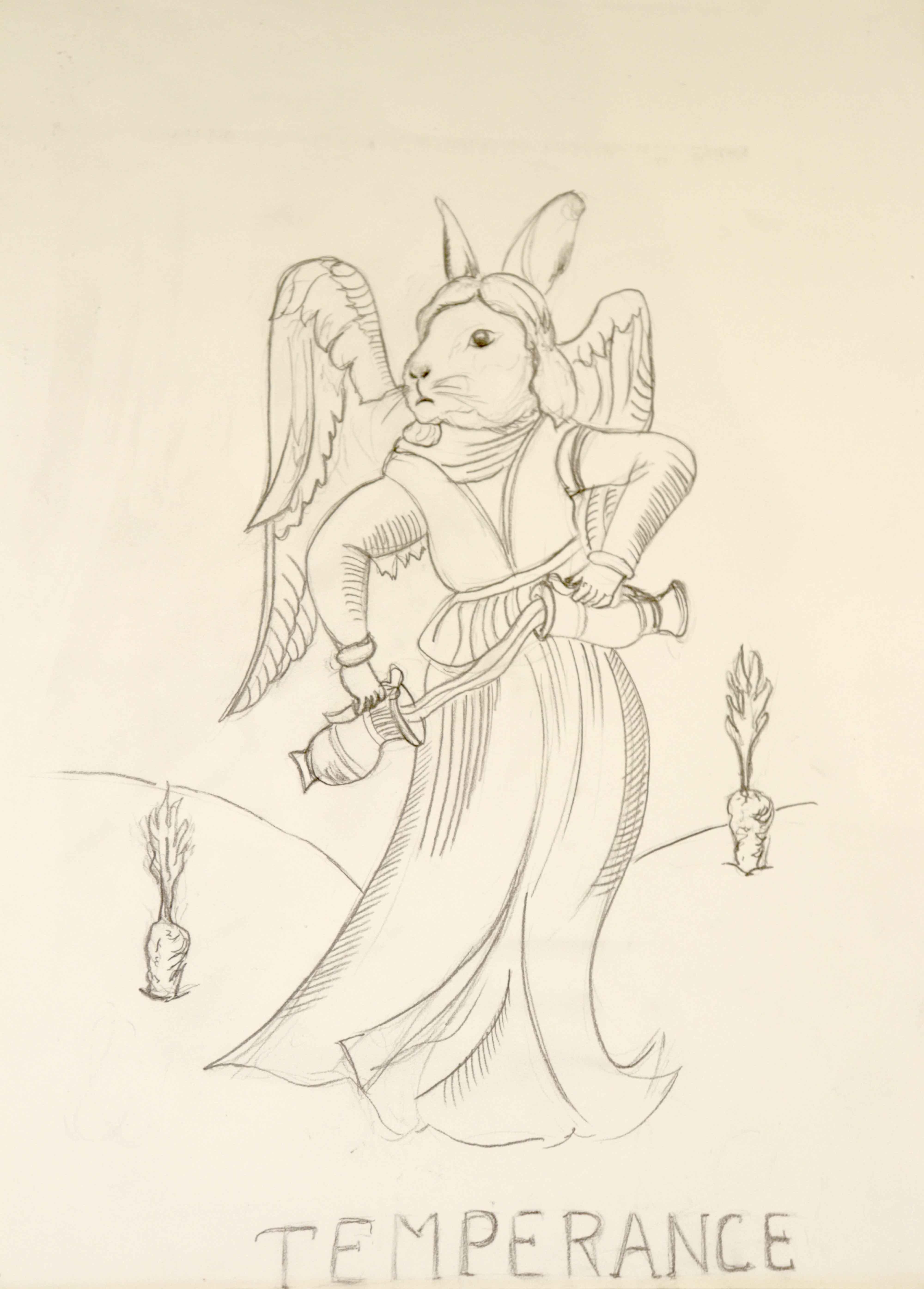 Dessin graphite sur papier temp�rance  cours de dessin