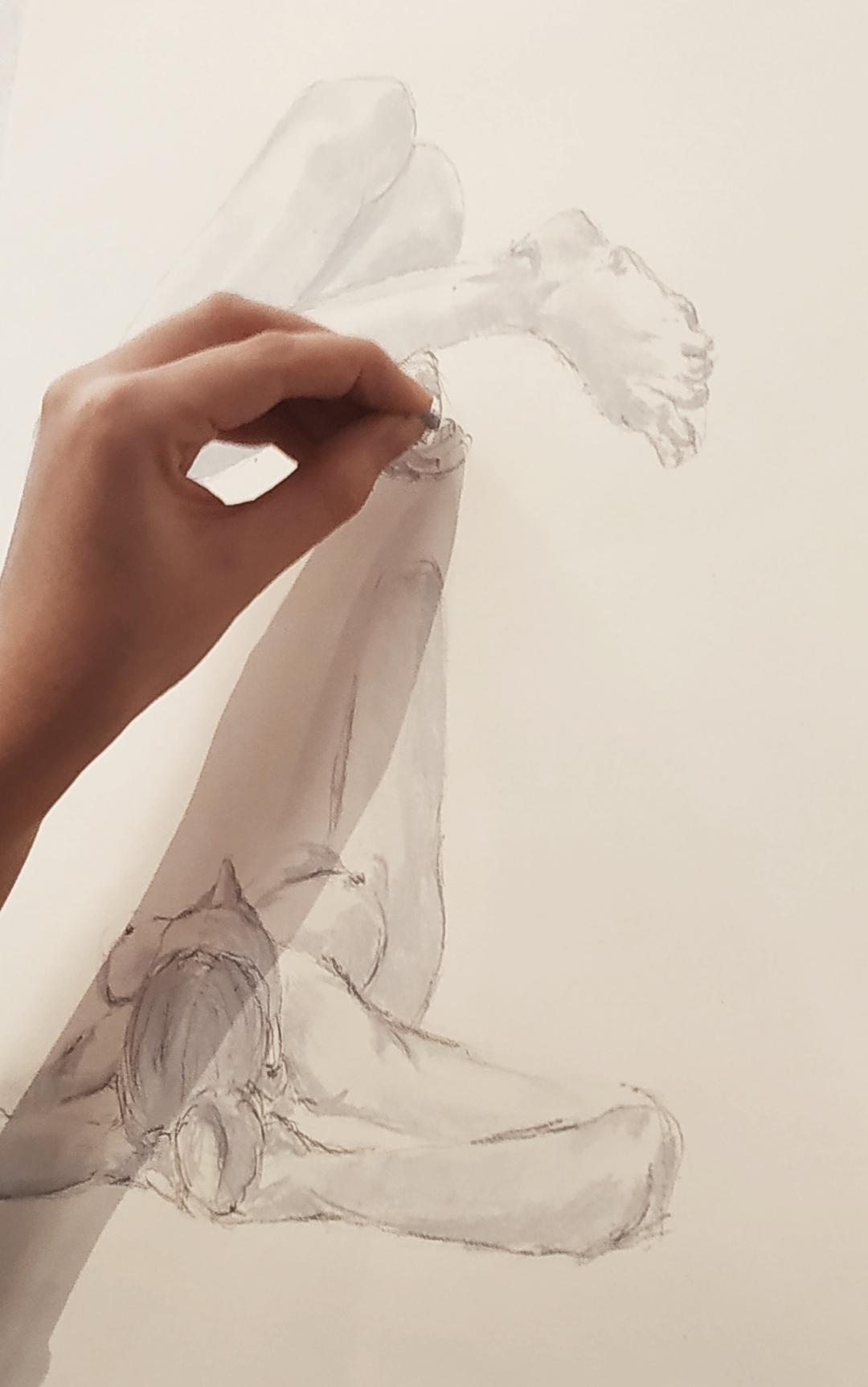 dessin croquis  craie  cours de dessin