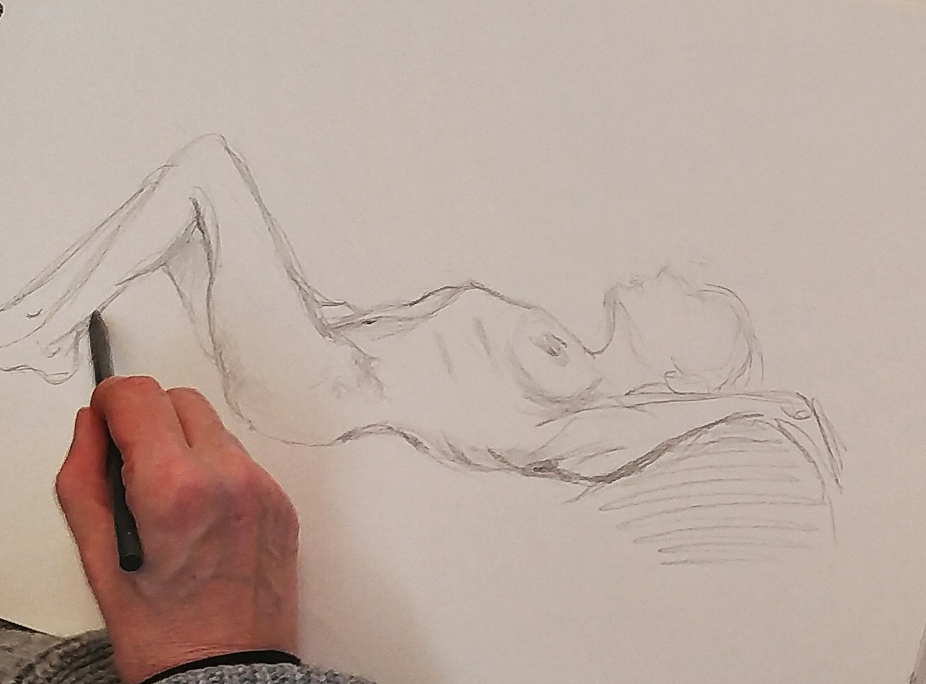 Dessins Esquisse mine de plomb sur papier  cours de dessin