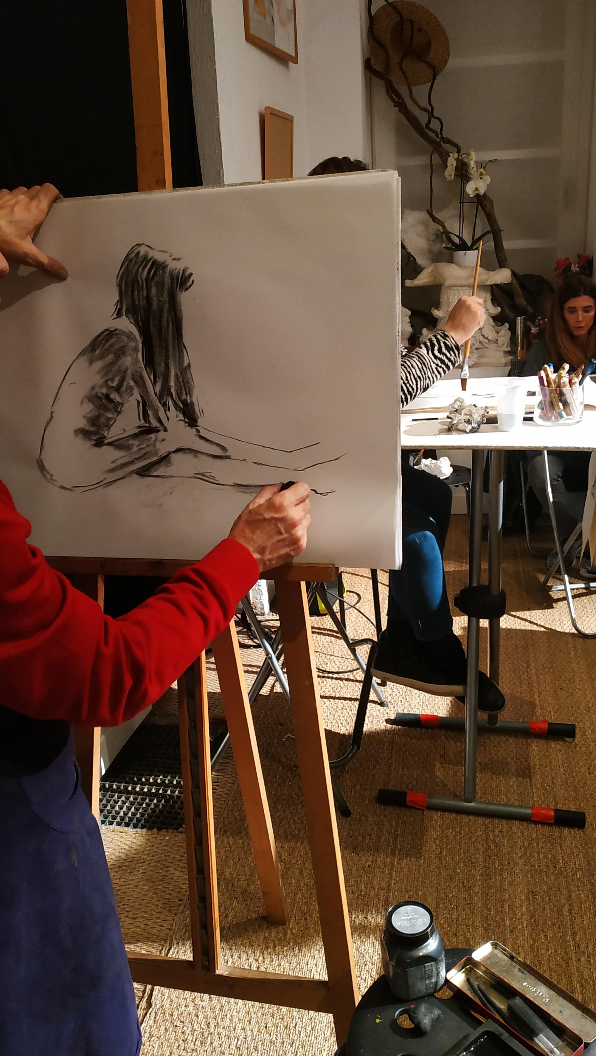 Atelier de dessin  cours de dessin