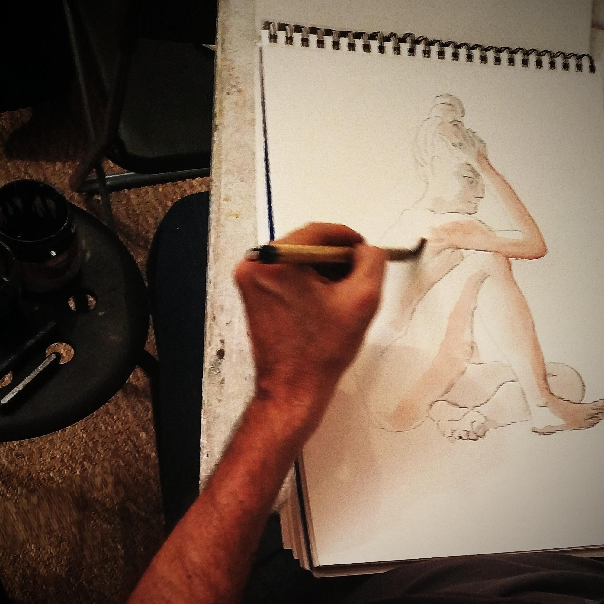 Carnet papier aquarelleCroquis rapide dessin carnet de croquis couleurs  cours de dessin