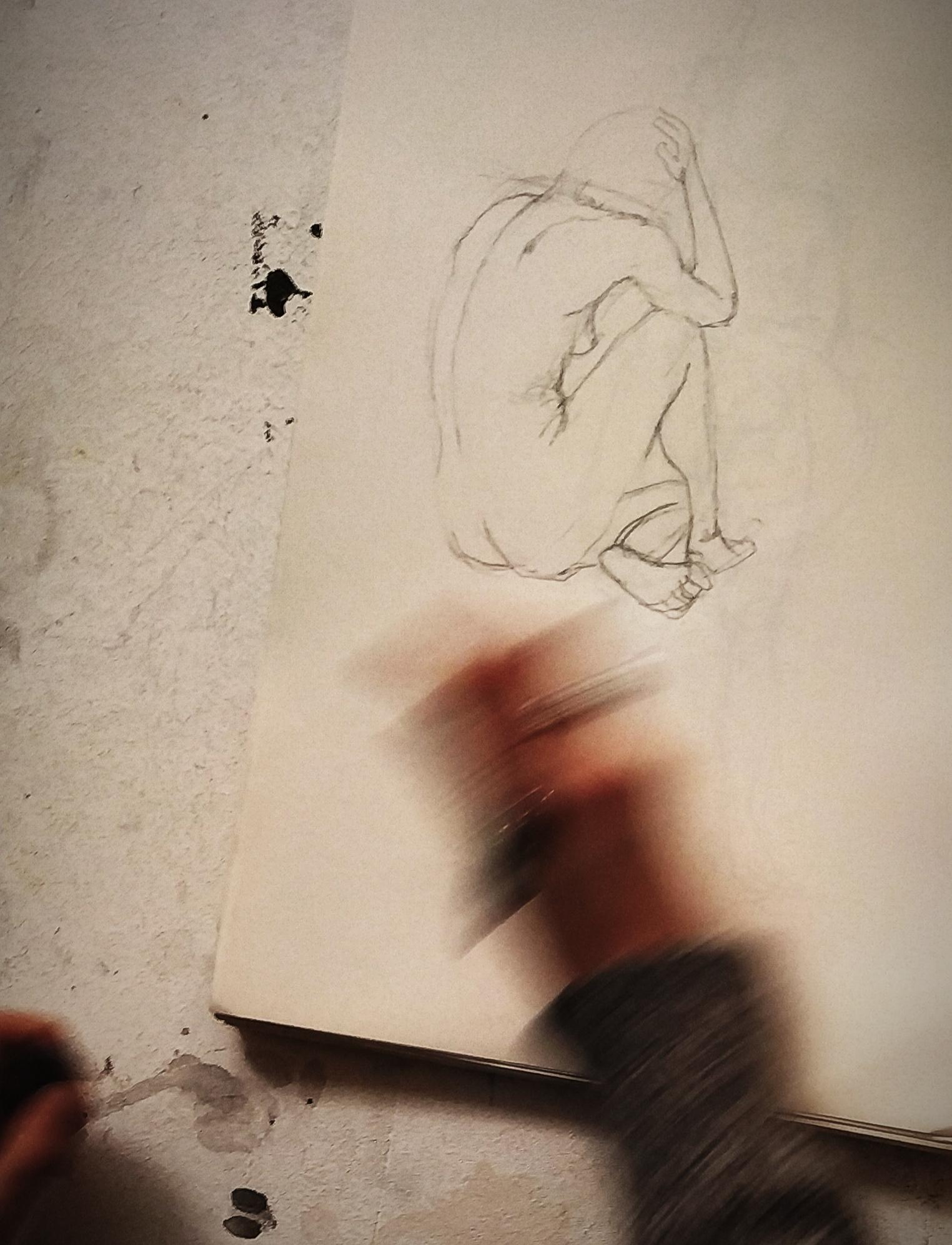 Croquis rapide dessin carnet de croquis  cours de dessin