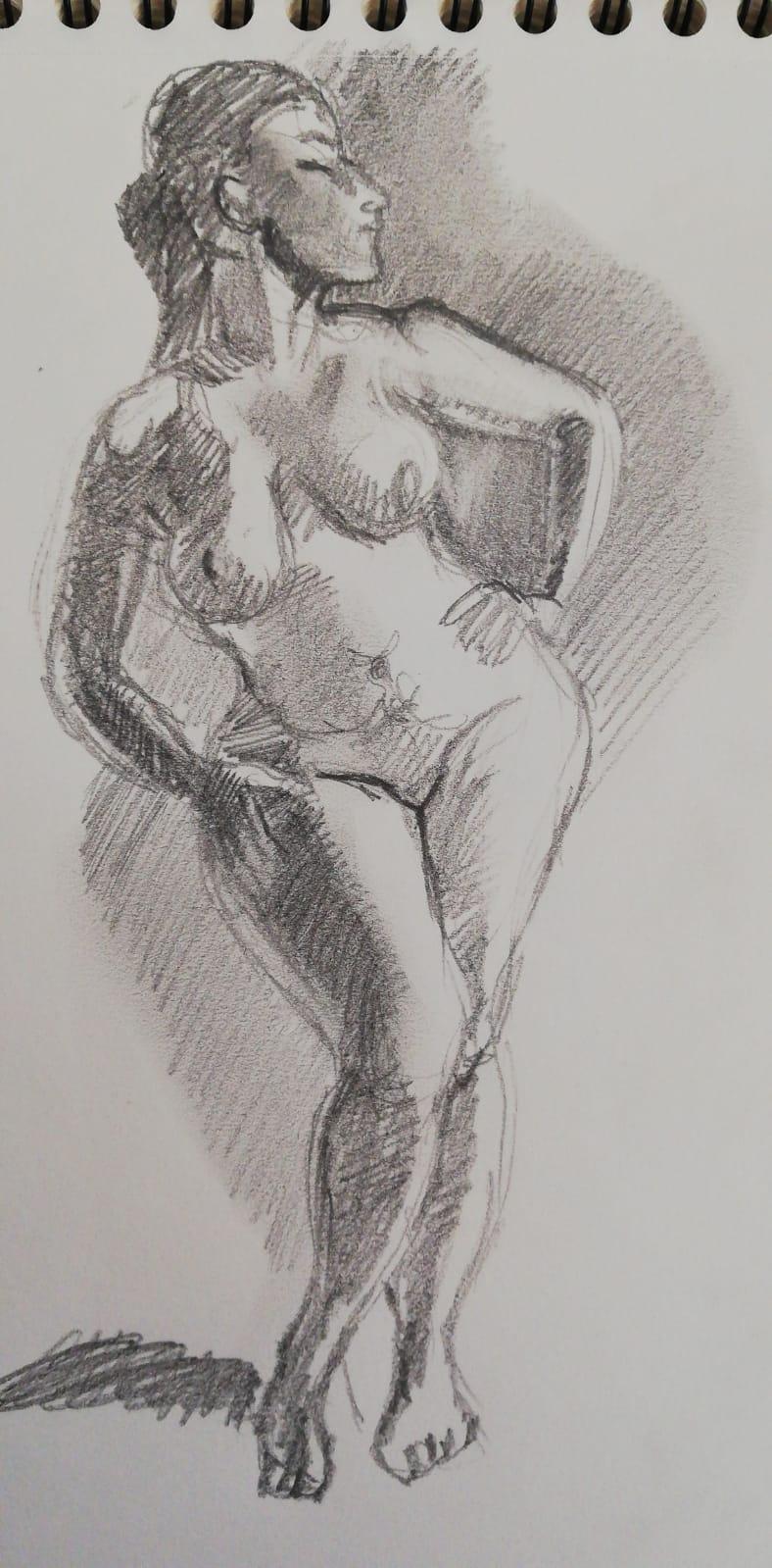 Dessin en valeur De gris  cours de dessin
