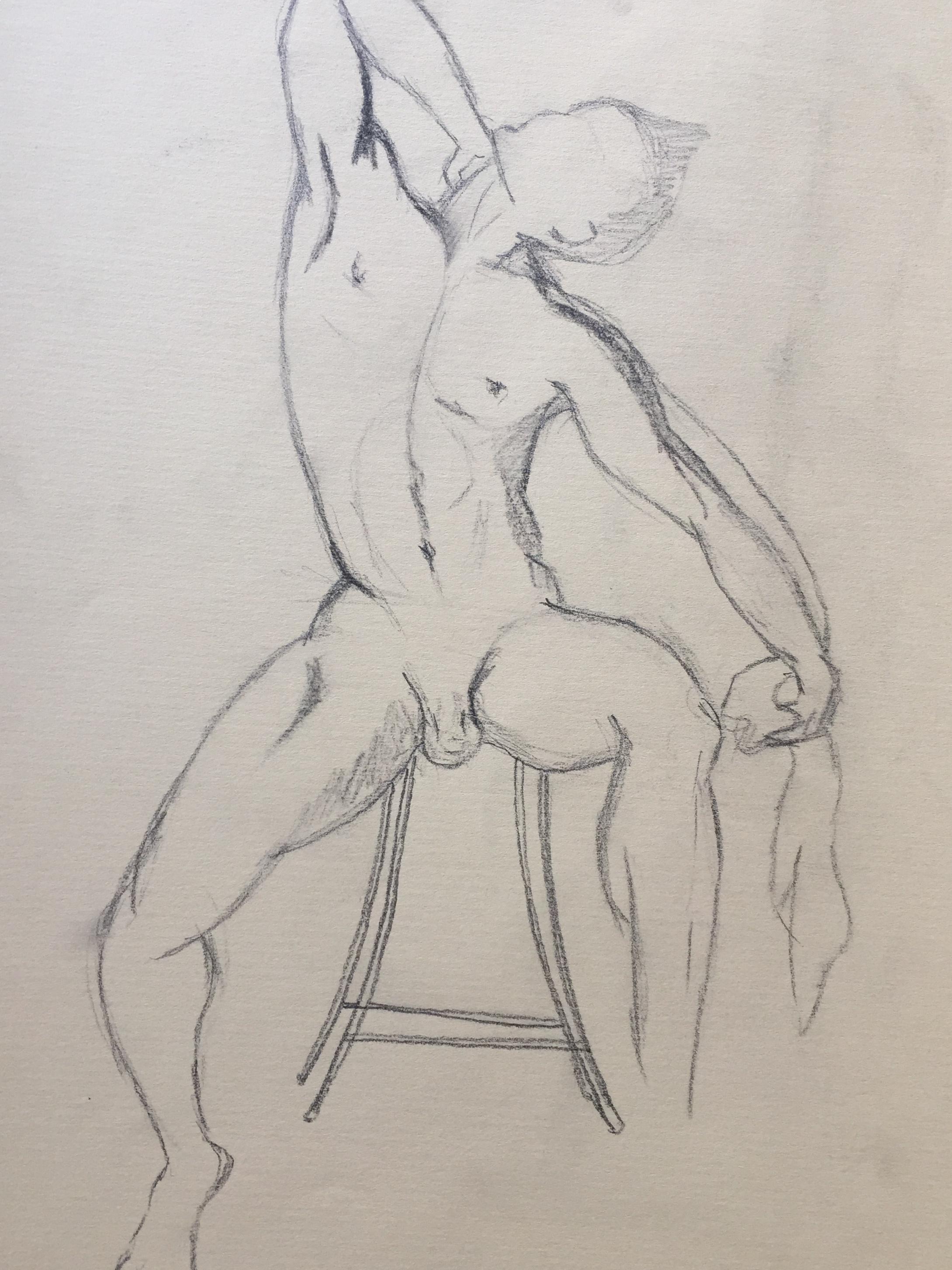 Dessin laocoon et ses fils  cours de dessin