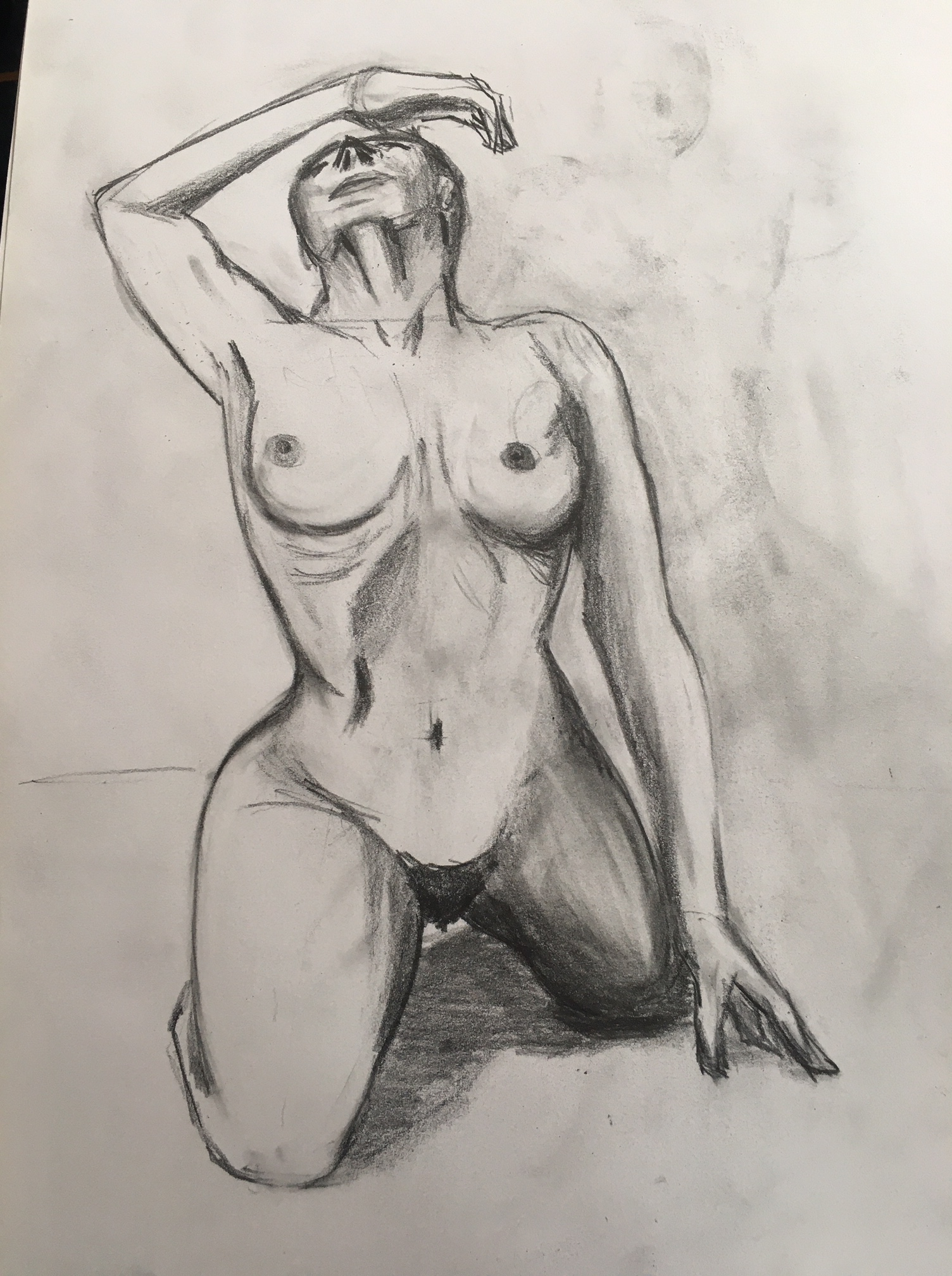 Dessin en ligne fusain  cours de dessin