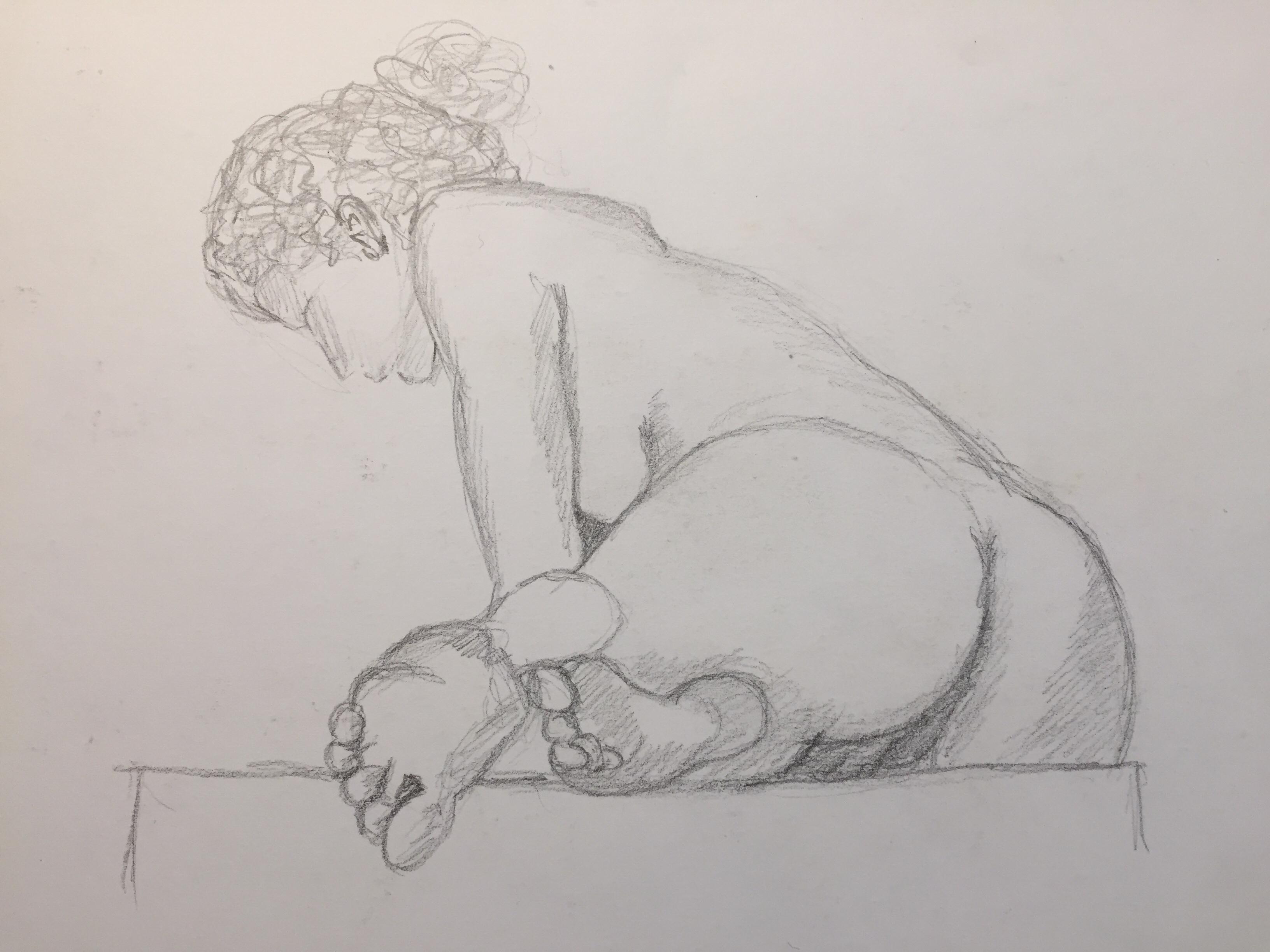 Esquisses hachures crayon de papier  cours de dessin