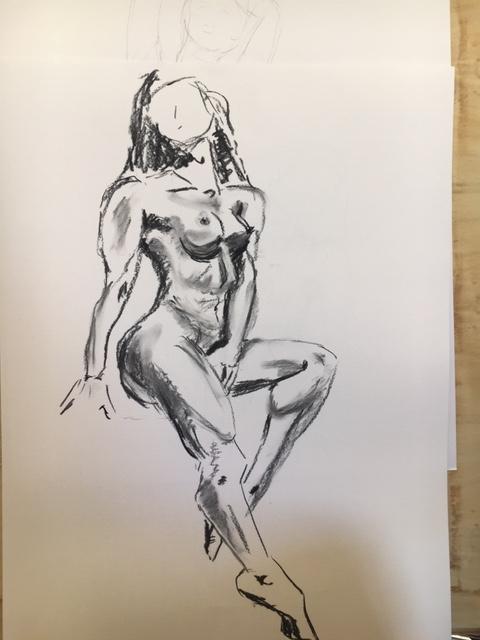 Dessin en valeur fusain sur papier  cours de dessin