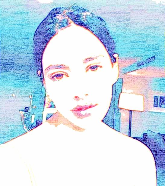 Portrait aquarelle couleurs  cours de dessin