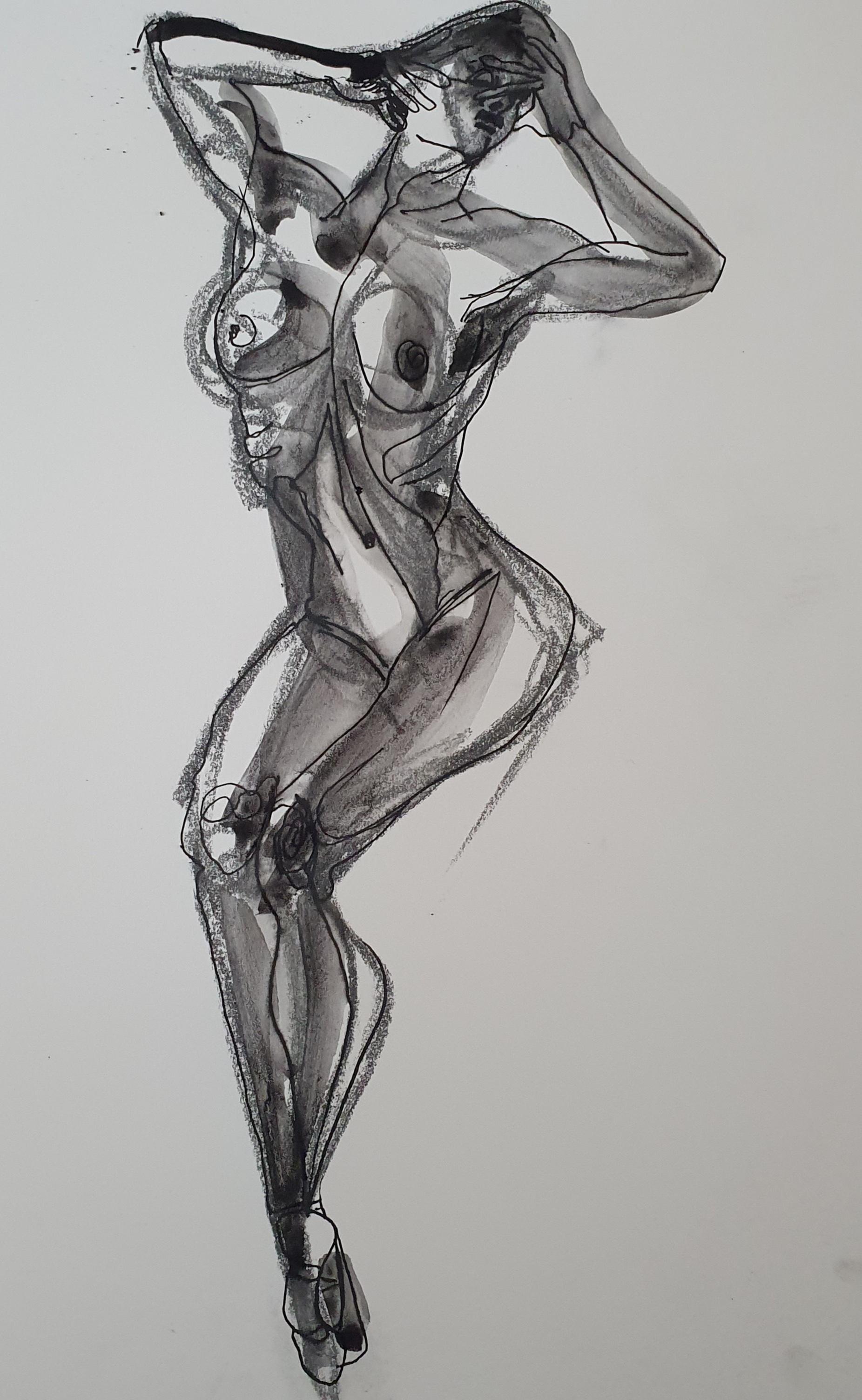 Dessin feutre aquarelle fusain  cours de dessin
