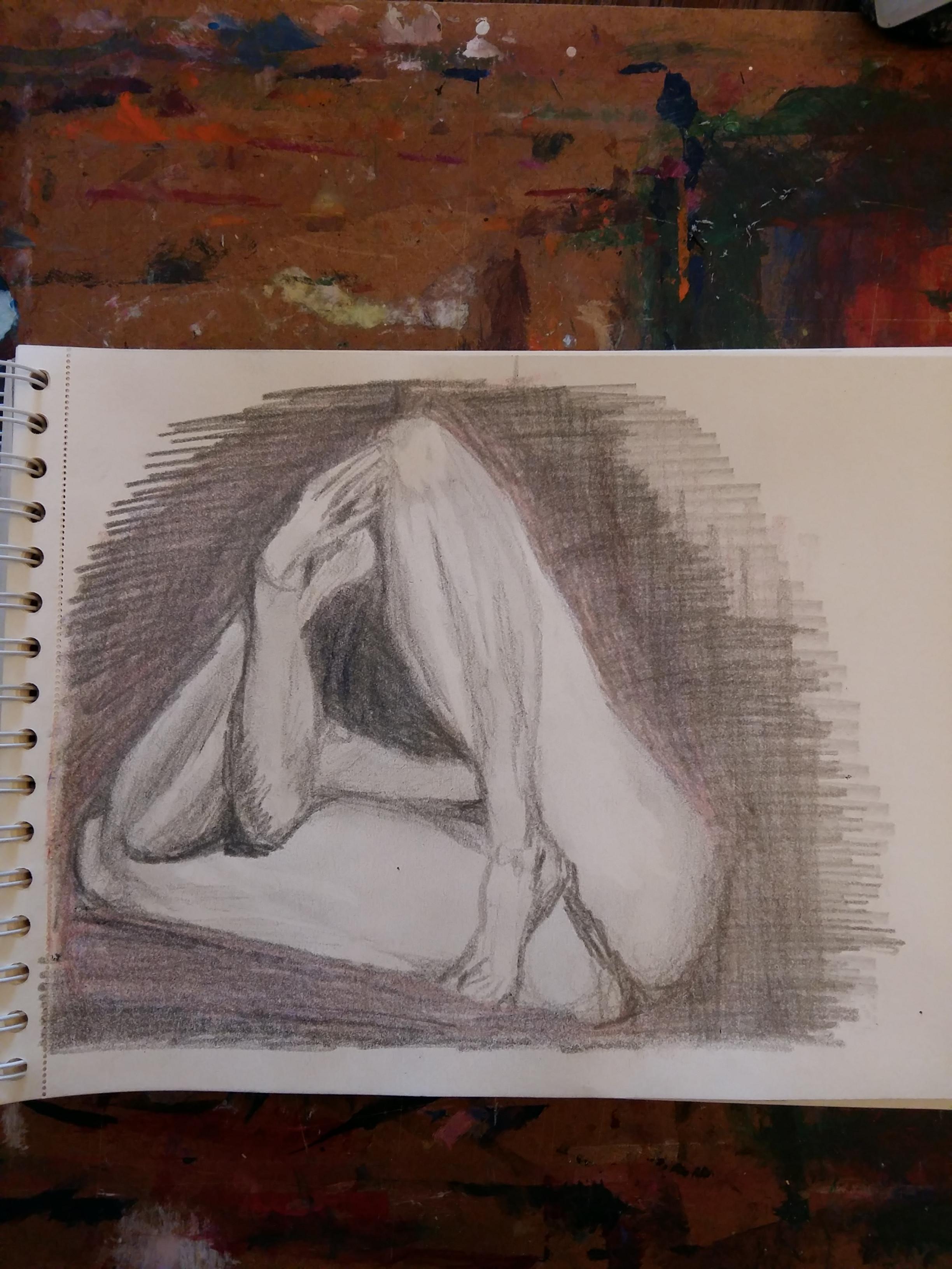dessin croquis crayon de papier  jambes   cours de dessin