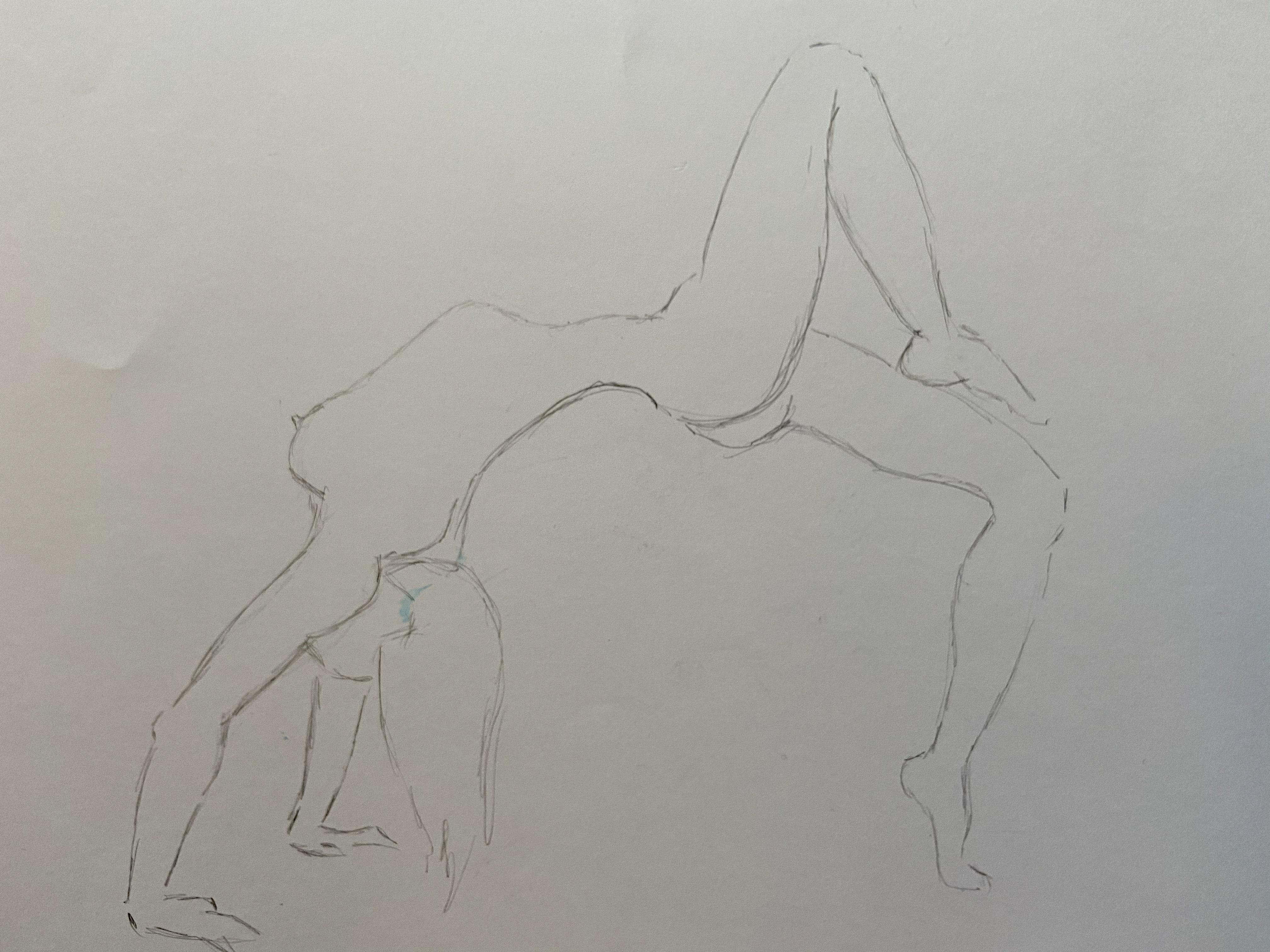 Dessin au trait rapide mod�le  cours de dessin