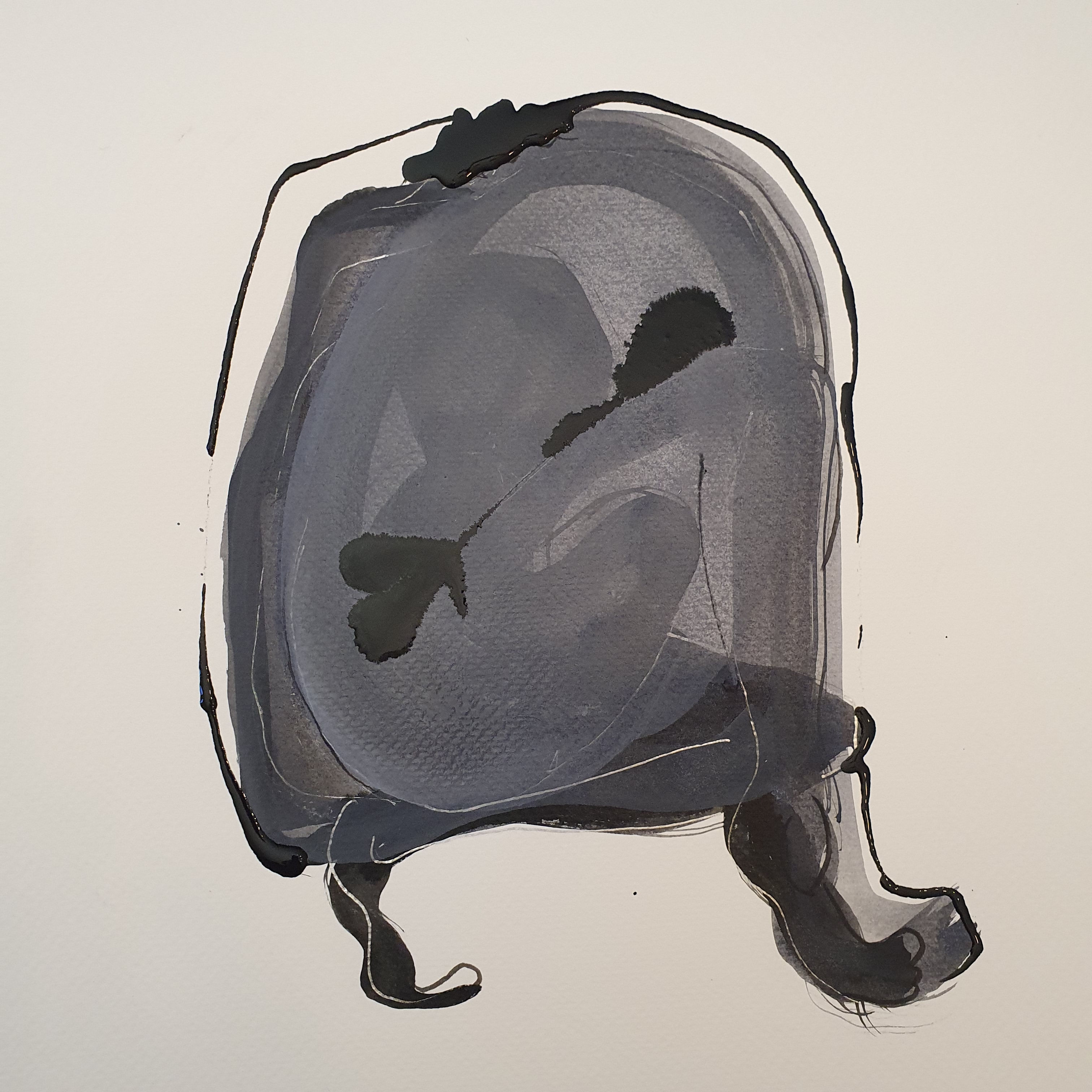 Peinture mod�le vivant aquarelles et encres trois quarts dos regroup�es  cours de dessin