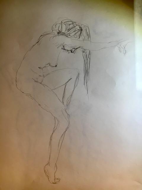 Dessin profil crayon papier  cours de dessin