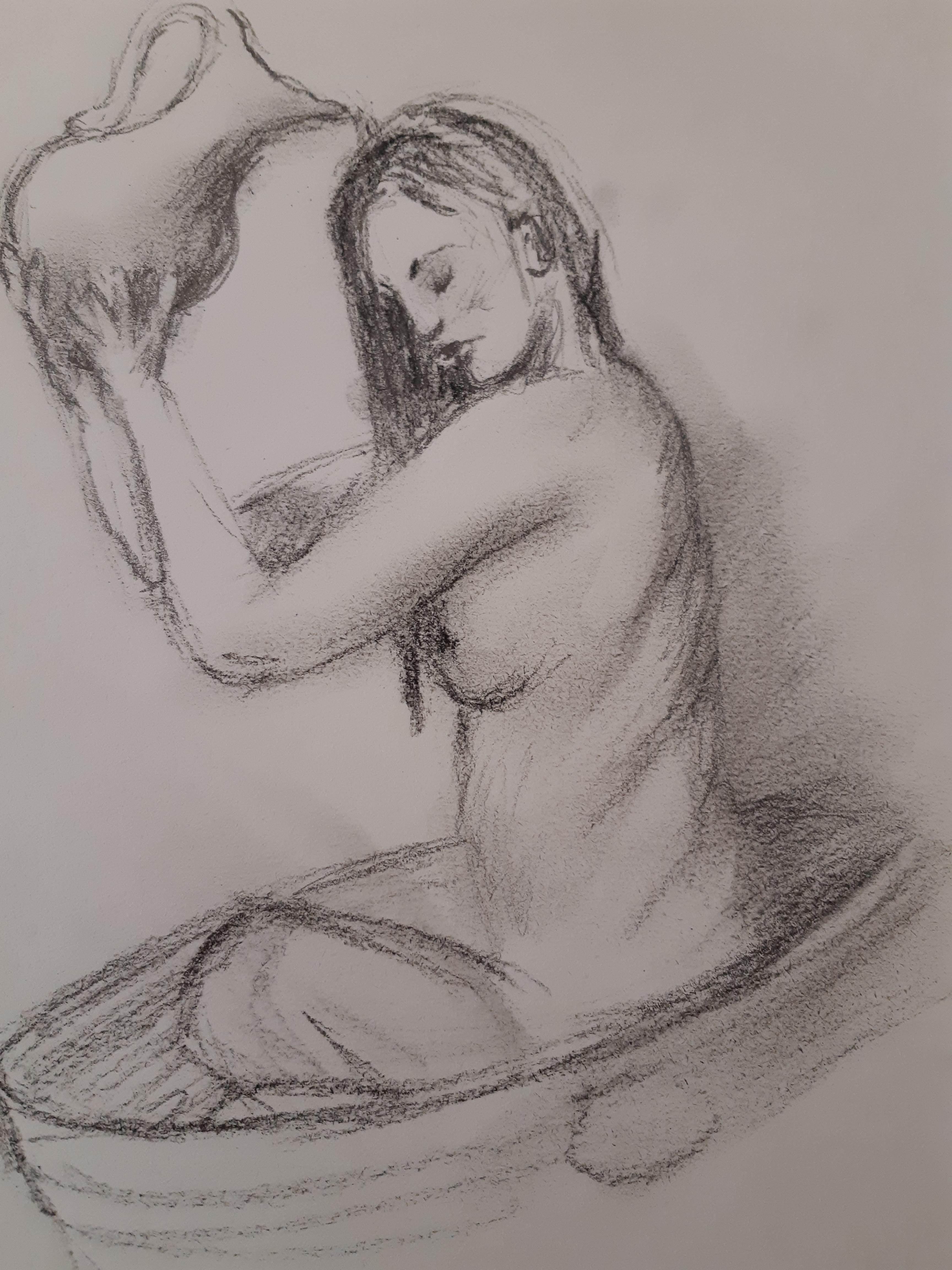 Dessin fusain tube  cours de dessin