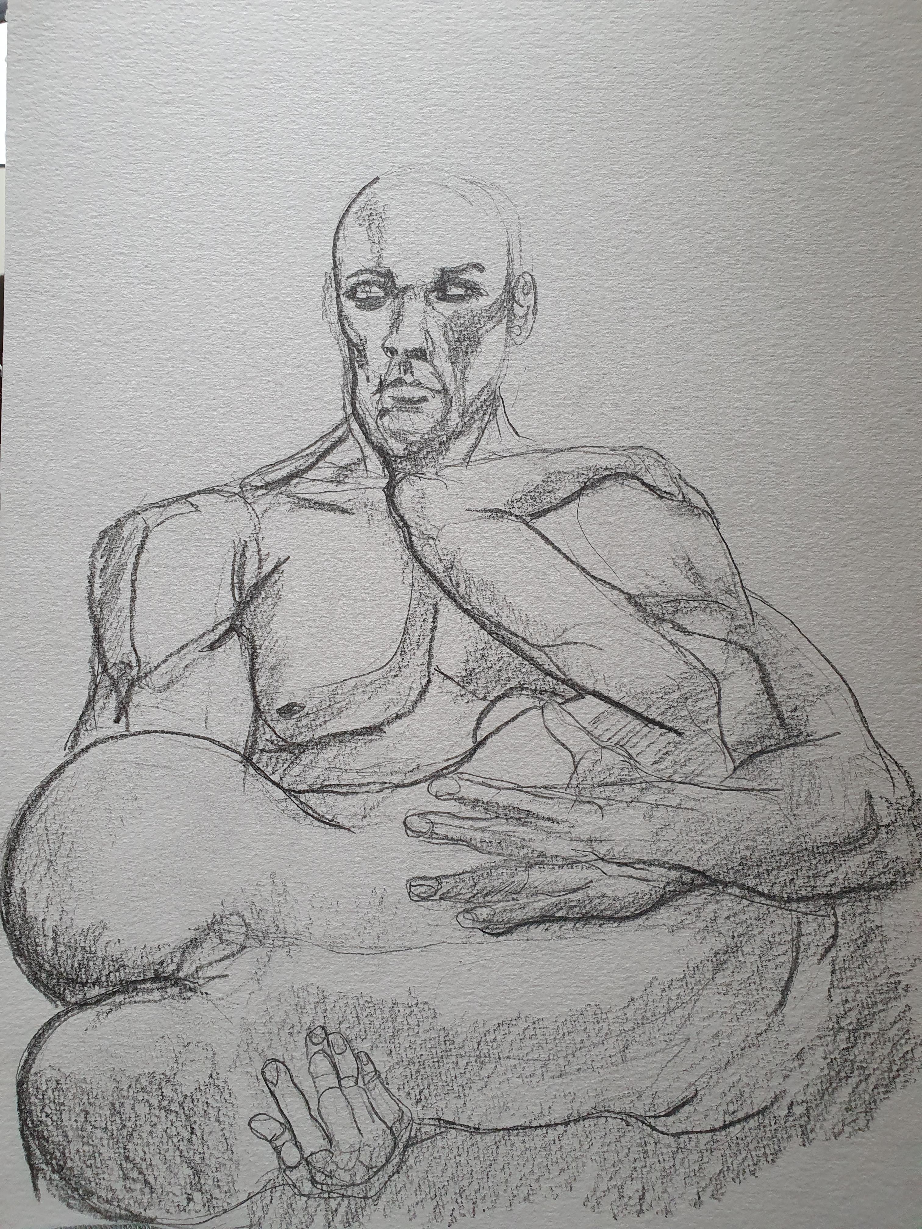 Composition dessin crayon papier  cours de dessin