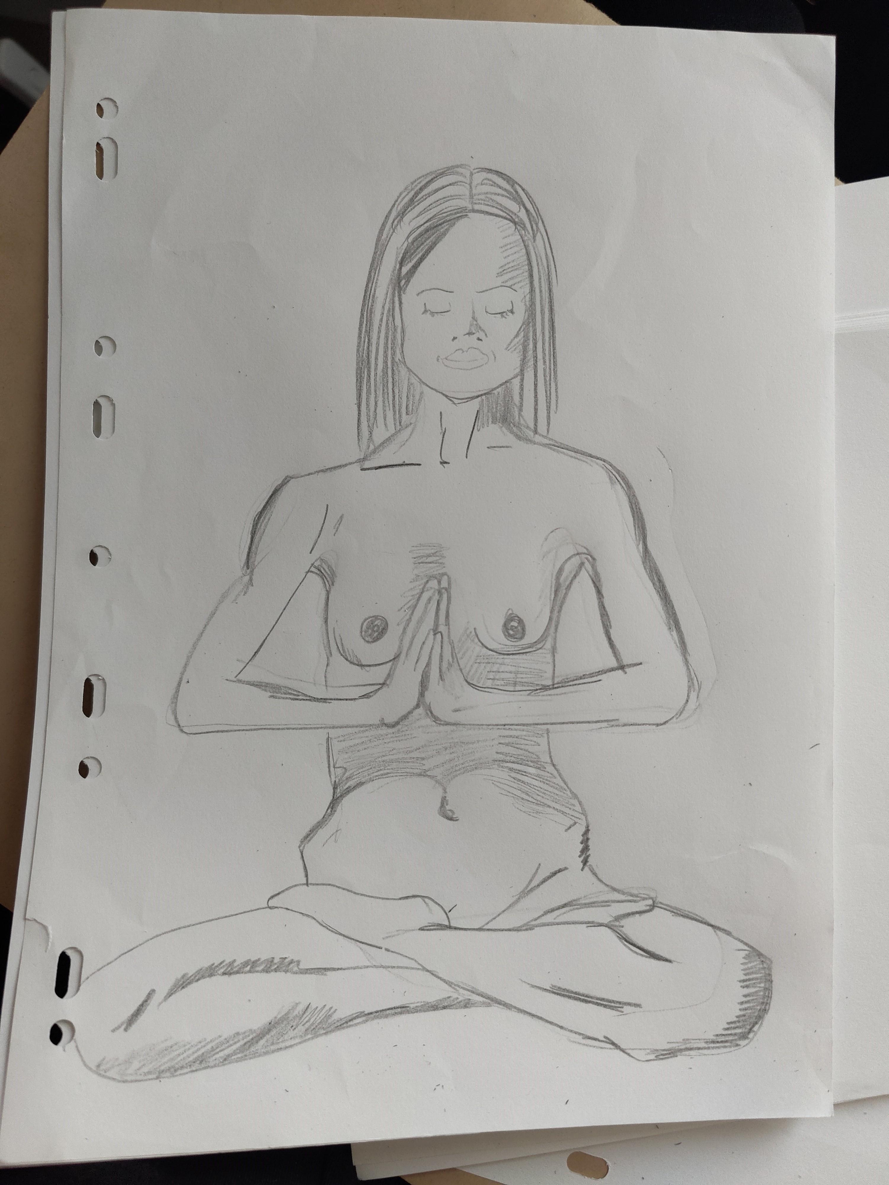 Dessin au trait crayon papier  cours de dessin