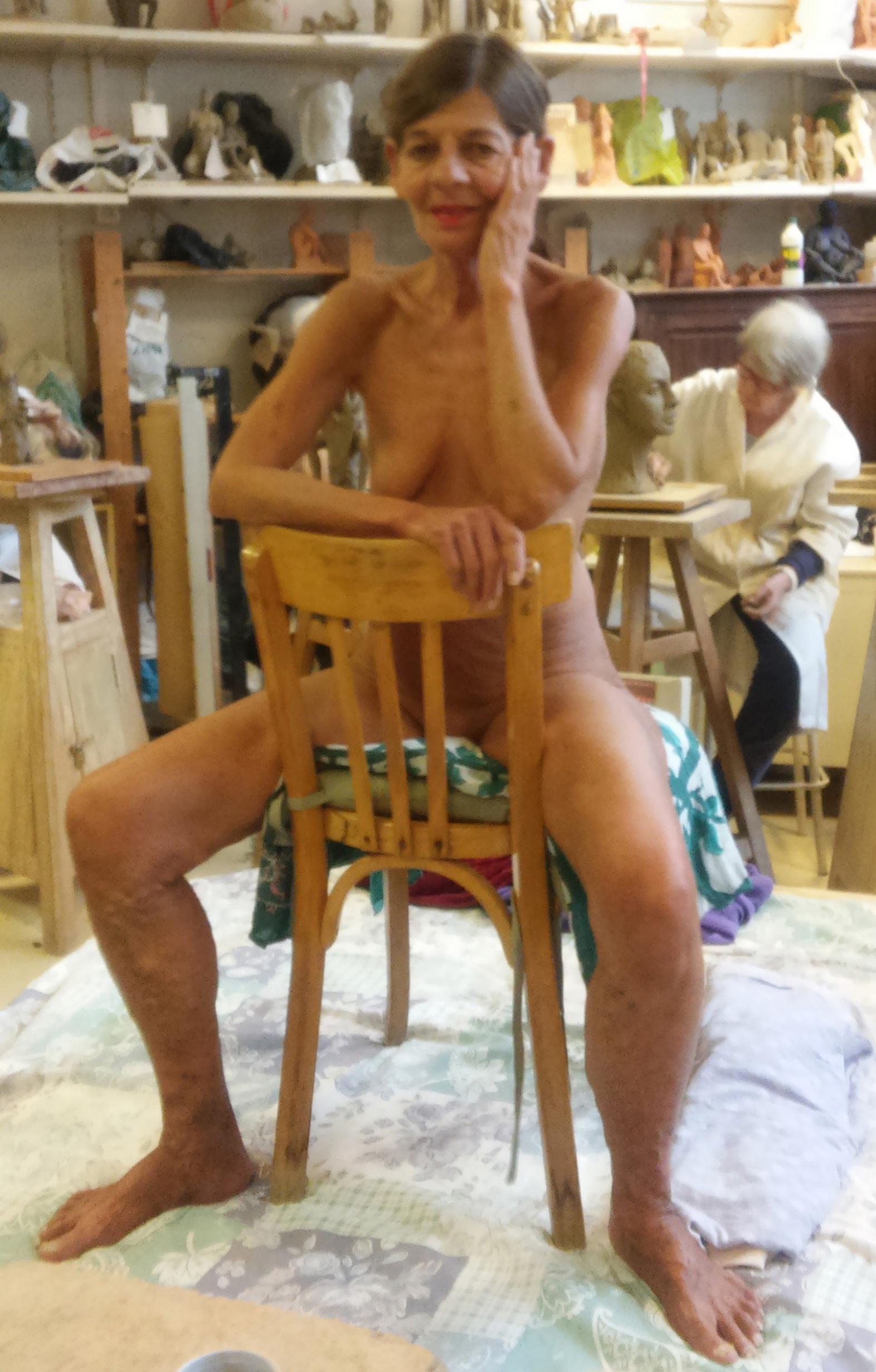 modele vivant femme carmel