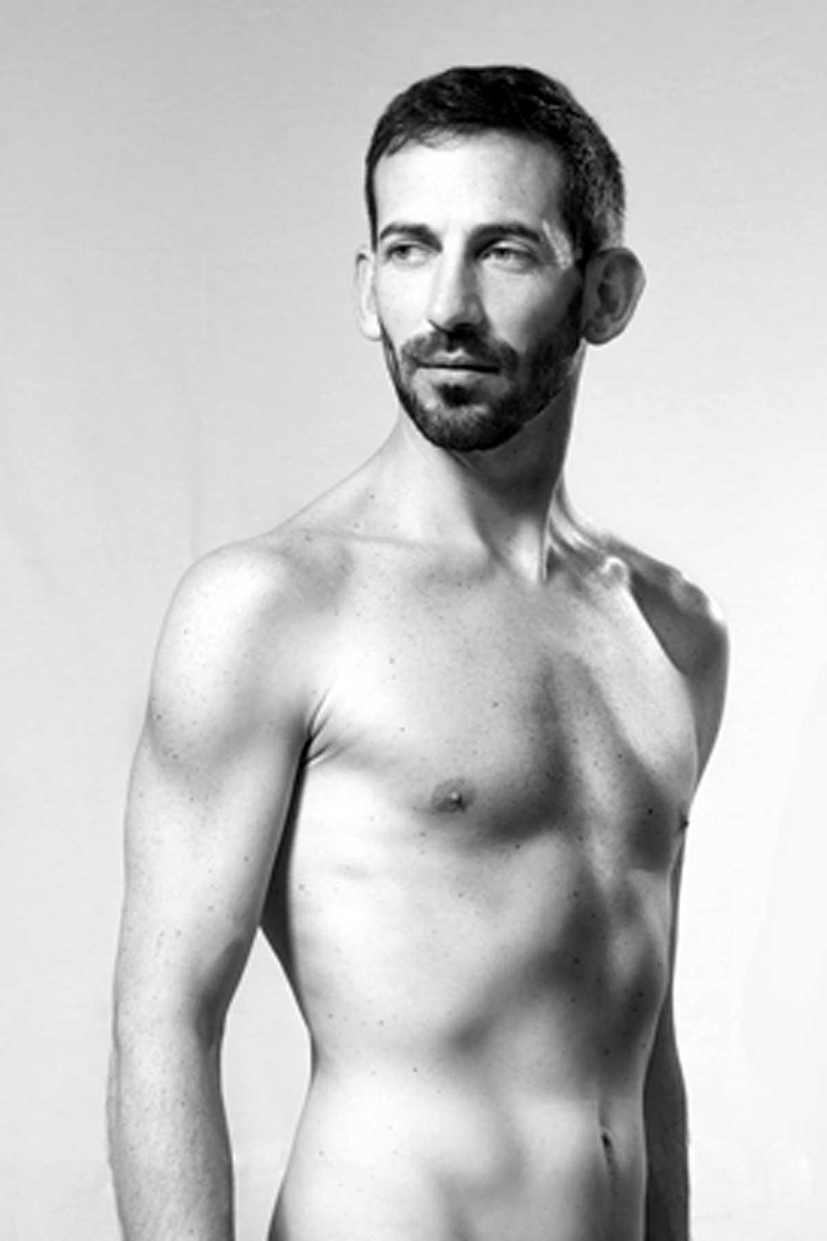 modele vivant homme olivier