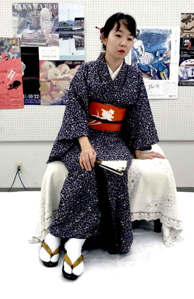 modele vivant femme natsumi