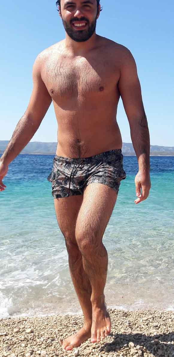modele vivant homme cyprien