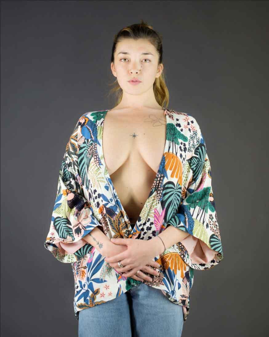 modele vivant femme alexia