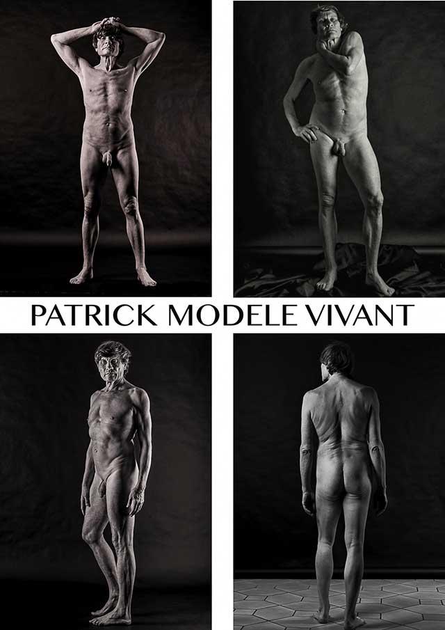 cours dessin modele vivanthomme patrick